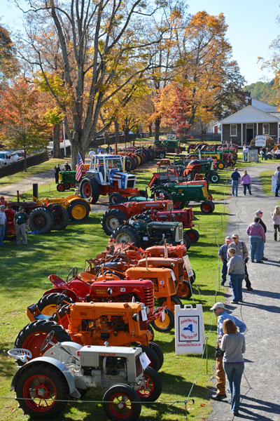 Tractor Fest at the Farmers' Museum