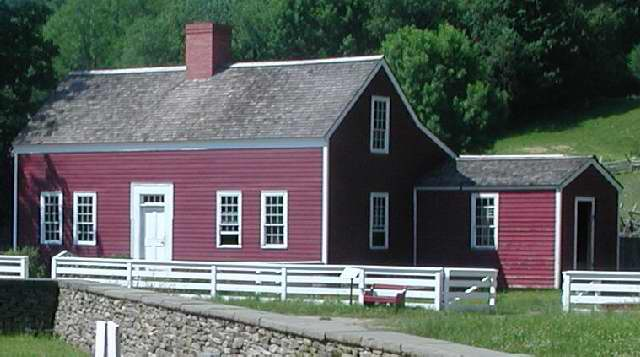 Historic Structures Lippitt Farm House The Farmers Museum