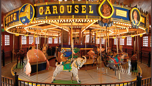 The Empire State Carousel The Farmers Museum