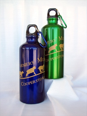 Aluminum Drinking Bottle Sheep Running