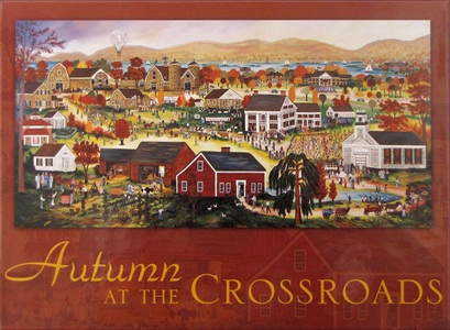 Autumn At The Crossroads Boxed Notecards