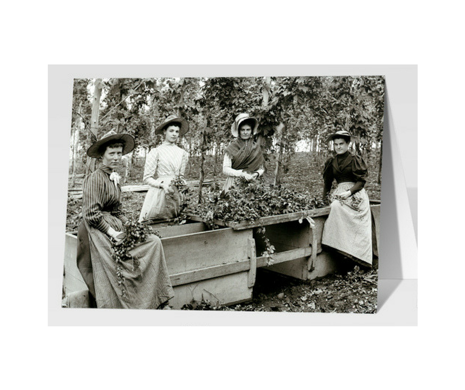 Female Hops Pickers