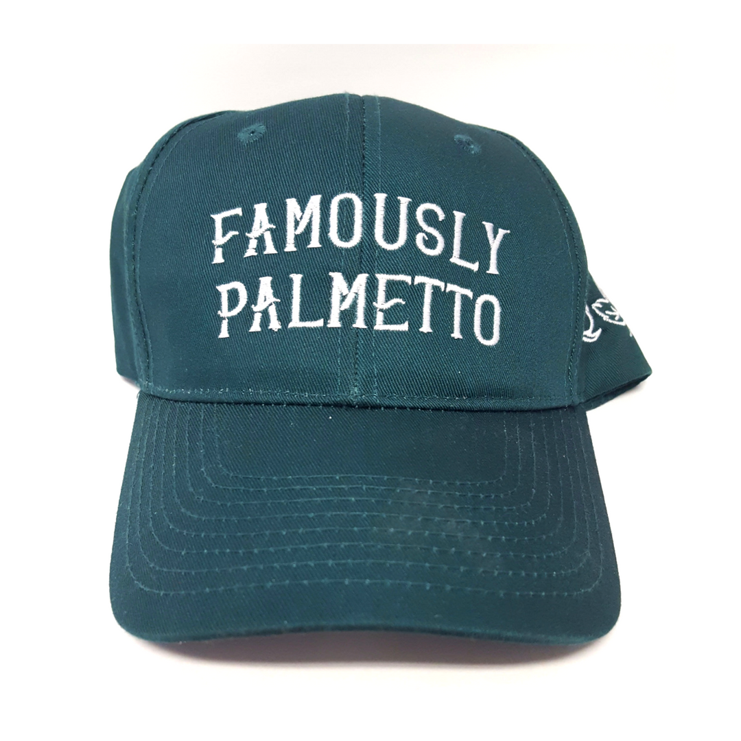 Famously Palmetto Ball Cap Front