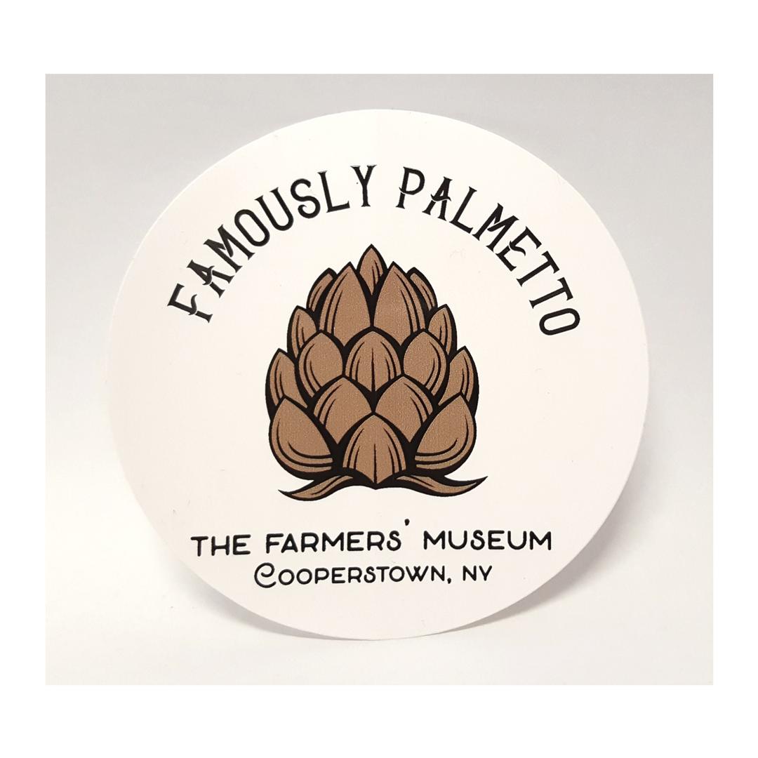 Famously Palmetto Sticker