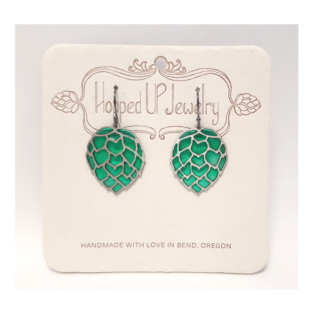Small Lux Hop Earrings