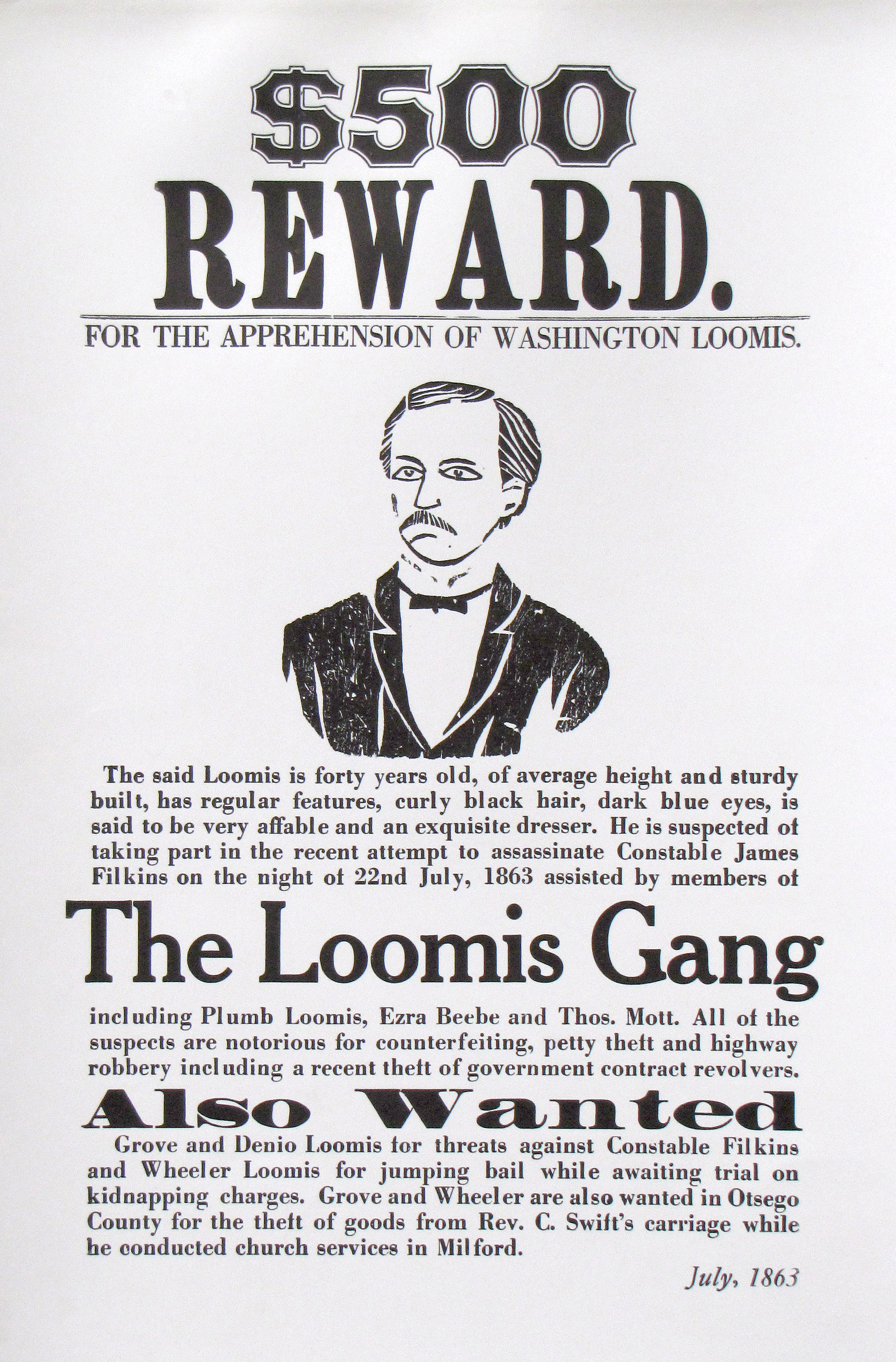 Examples Of Wanted Posters 5wwphtmlThe Loomis Gang Wanted – Examples of Wanted Posters