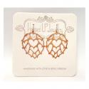 Worthy Heart Hop Earrings