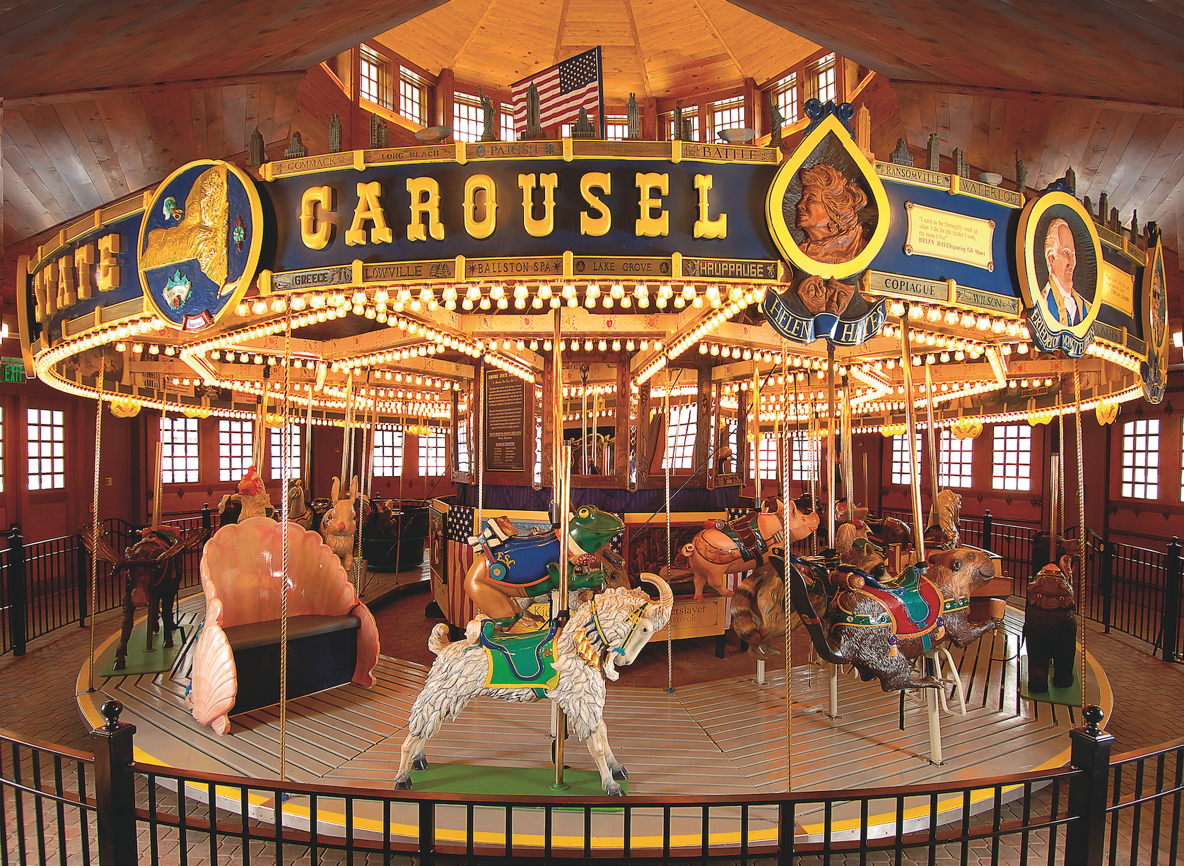 Empire State Carousel The Farmers Museum